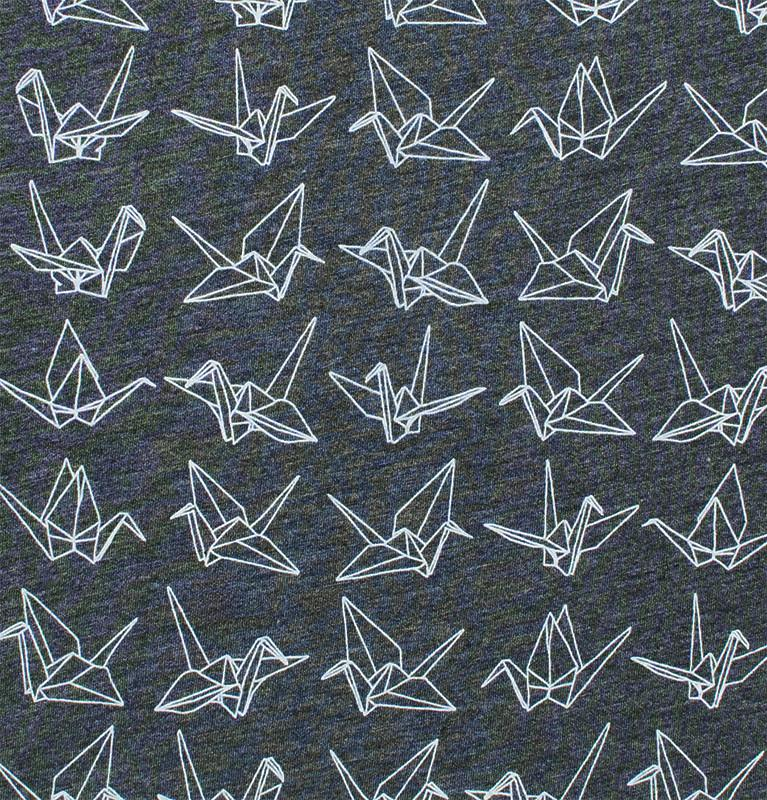 Origami Cranes T Shirt By Flytrap Japanese American National