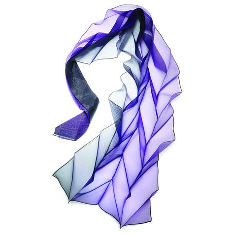 Origami Pleats Scarf  by NUNO