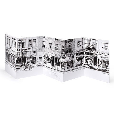 East First Street Notecard - Set of Six