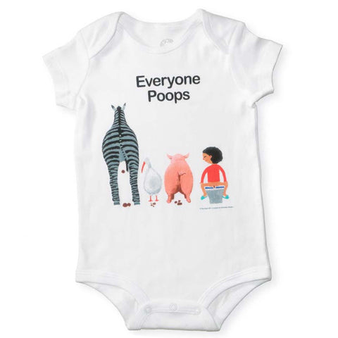 Everyone Poops Romper