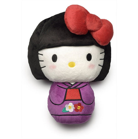 Hello Kitty x JANM Kokeshi Plush Toy