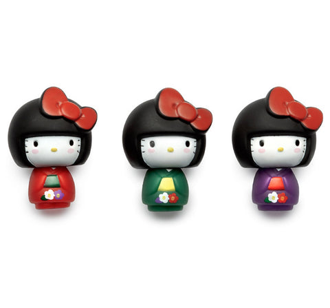 Hello Kitty Set of Three Vinyl Figures