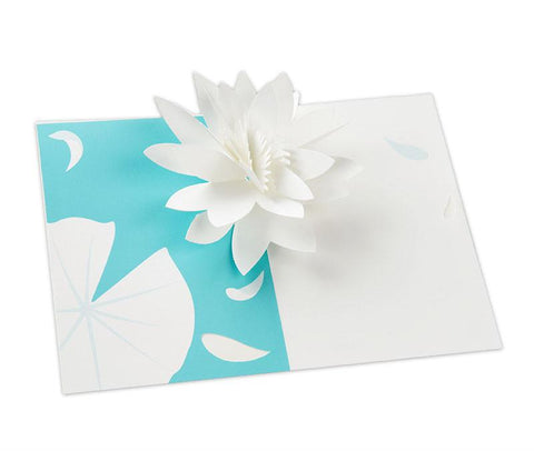 Pop-up Lilypad Notecard