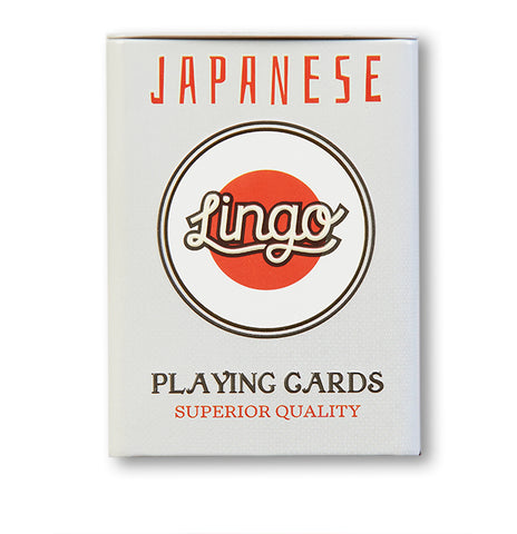 Lingo Japanese Language Cards