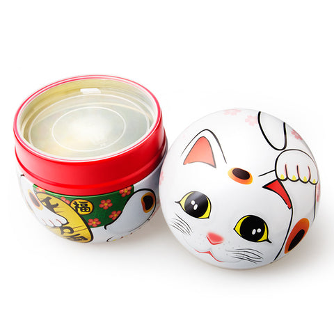 Maneki Neko Tea Container