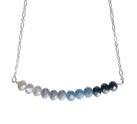 """Shibori"" Crystal Necklace"