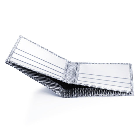 Stainless Steel Asanoha Wallet