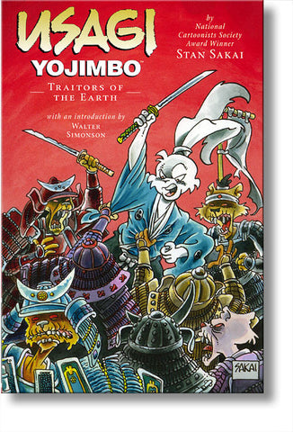 Usagi Yojimbo #26: Traitors of the Earth
