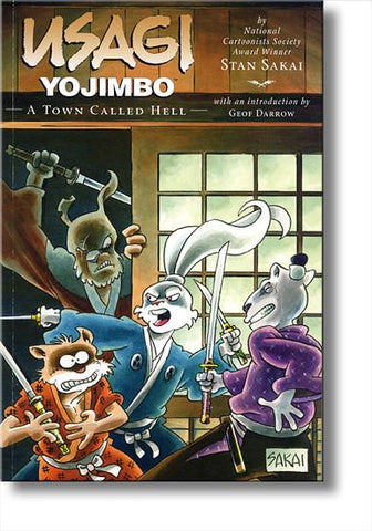 Usagi Yojimbo #27:  A Town Called Hell