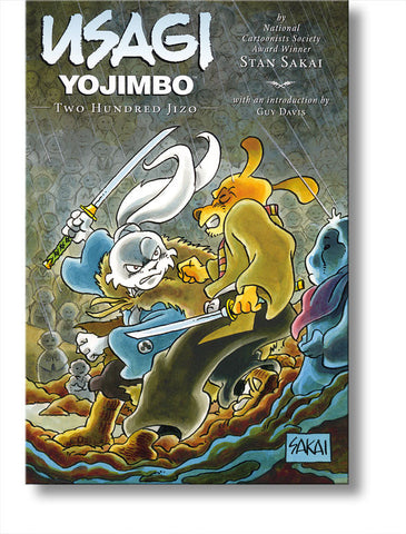 Usagi Yojimbo #29: Two Hundred Jizo
