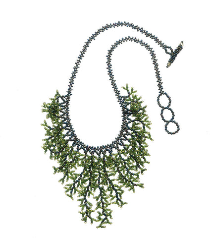 Wakame Beaded Necklace