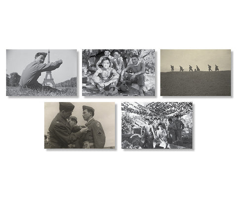 "Postcard Set/10 from<br> ""Before They Were Heroes:<br>Sus Ito's World War II Images"""
