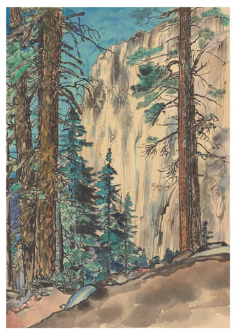 Chiura Obata - Yosemite Note Card Set of 20