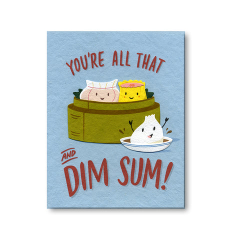 All That And Dim Sum Notecard