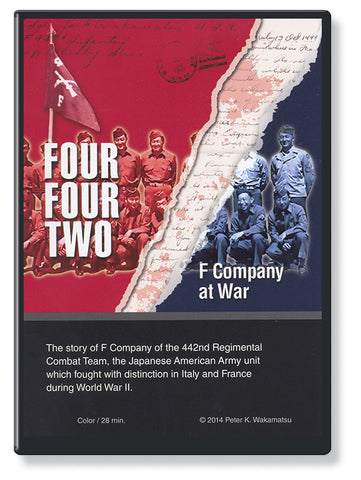 Four-Four-Two, F Company at War  (DVD)