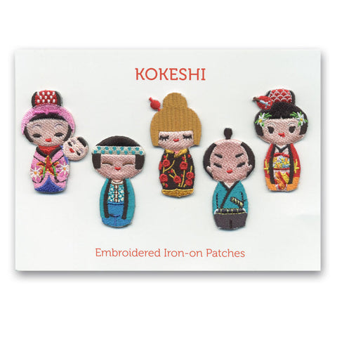 Kokeshi Mini Patches