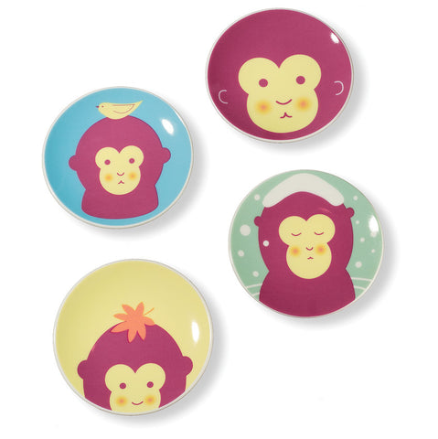 Monkey Seasons Plates