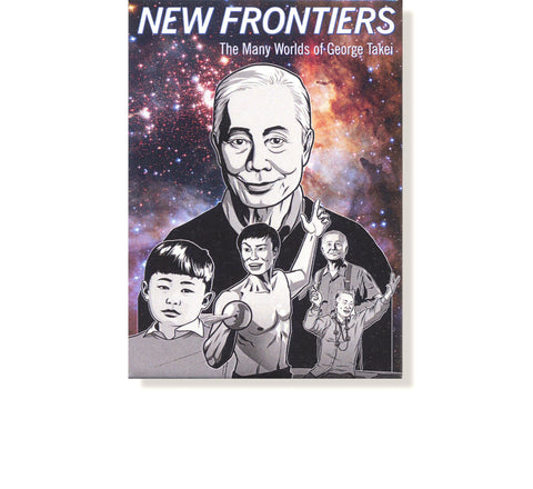 George Takei New Frontiers Magnet