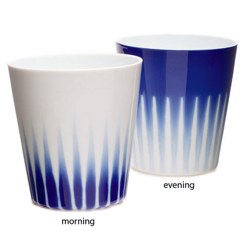 Morning and Evening Tea Cups