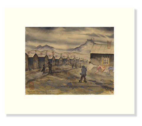 Estelle Peck Ishigo Reproduction Print--Wind and Rain