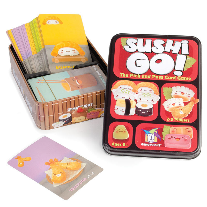 Sushi Go!-The Pick and Pass Card Game | Japanese American National ...