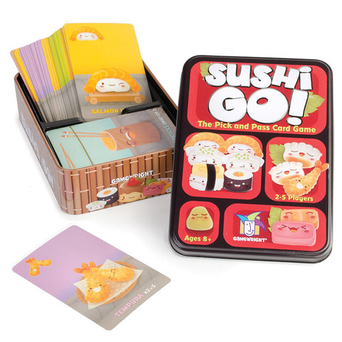 Sushi Go!-The Pick and Pass Card Game