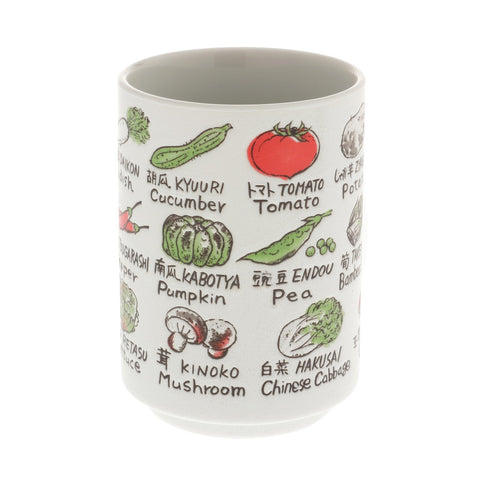 Japanese Vegetables Tea Cup