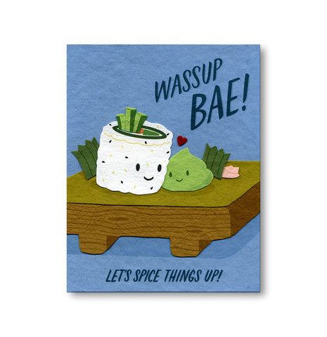 Wasabi Love Notecard