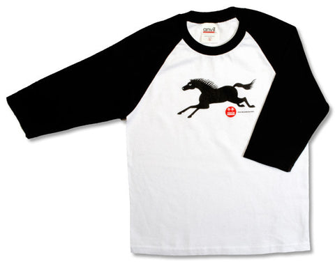 Kids Year Of The Horse Baseball T-Shirt