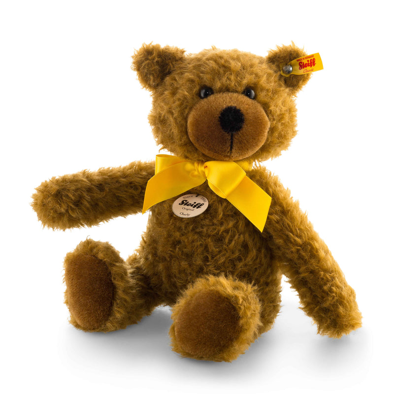 Steiff Charly Teddy Bear, Brown - Da Da Kinder Store