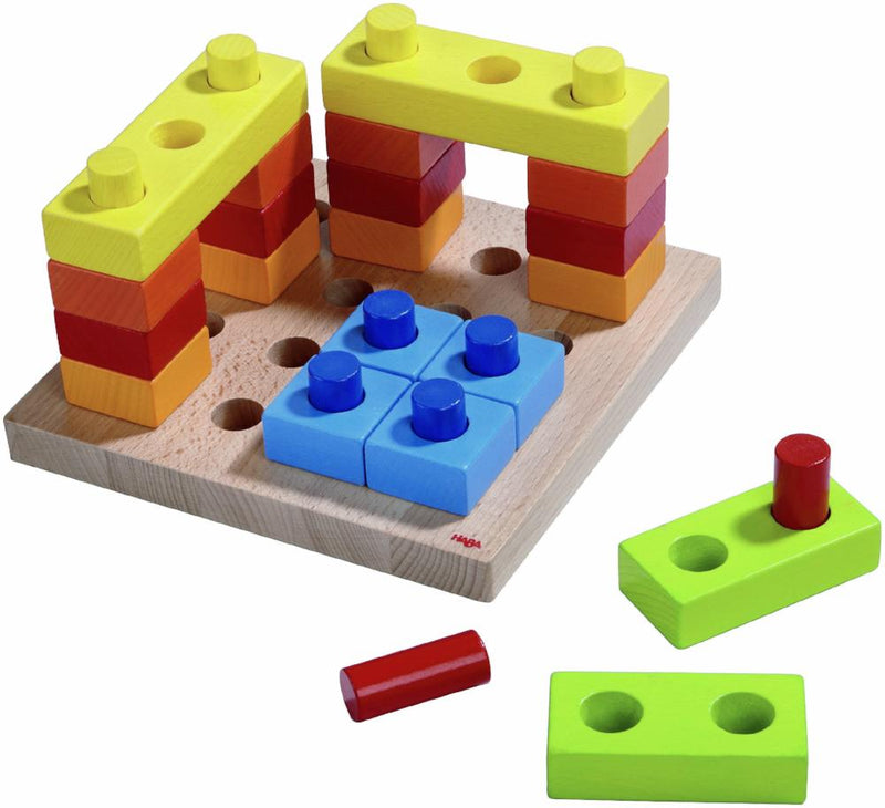 HABA Pegging Game Colour Fun - Da Da Kinder Store