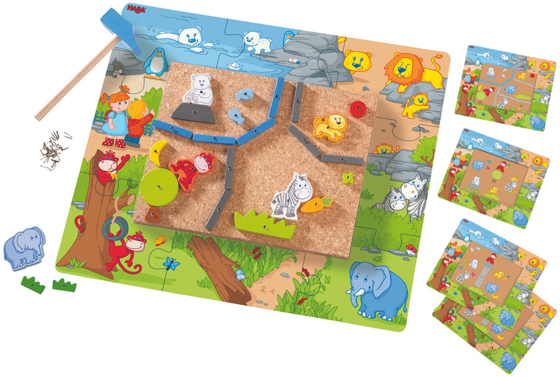 HABA Geo Shape Tack Zap In the Zoo - Da Da Kinder Store