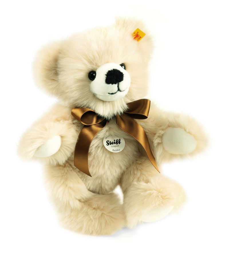 Steiff Bobby Dangling Teddy Bear Cream