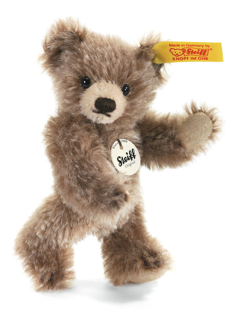 Steiff 10cm Mini Teddy Bear Brown Tipped - Da Da Kinder Store