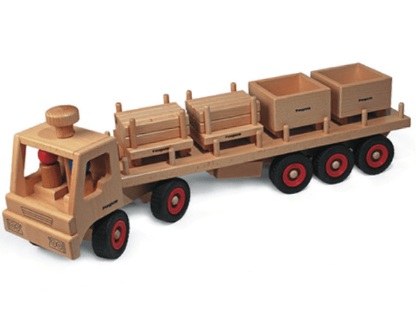 Fagus Toys UK Classic Articulated Lorry