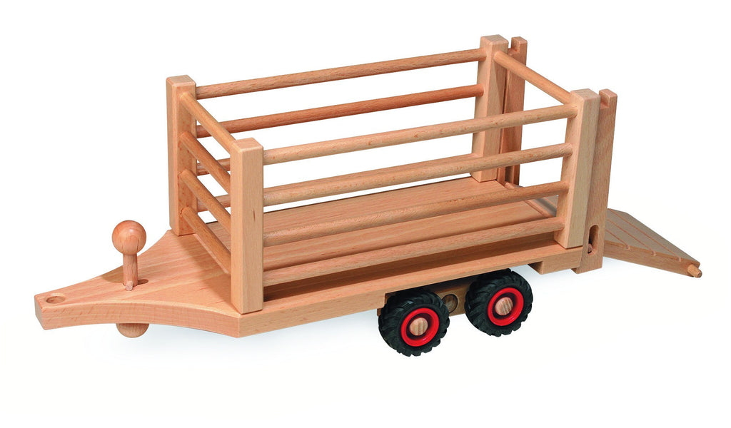 Fagus Classic Safari Cattle Trailer - Da Da Kinder Store