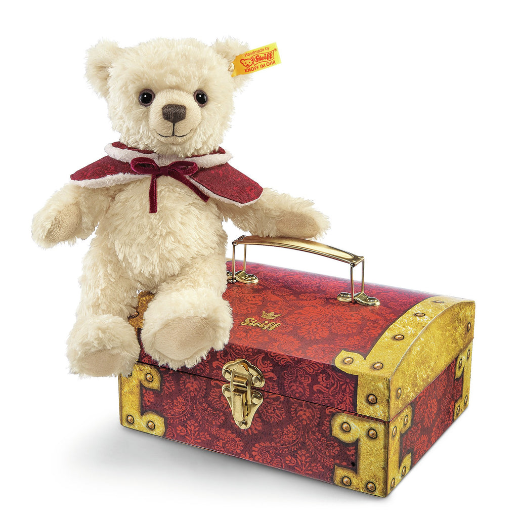 Steiff Clara Teddy Bear in Treasure Chest