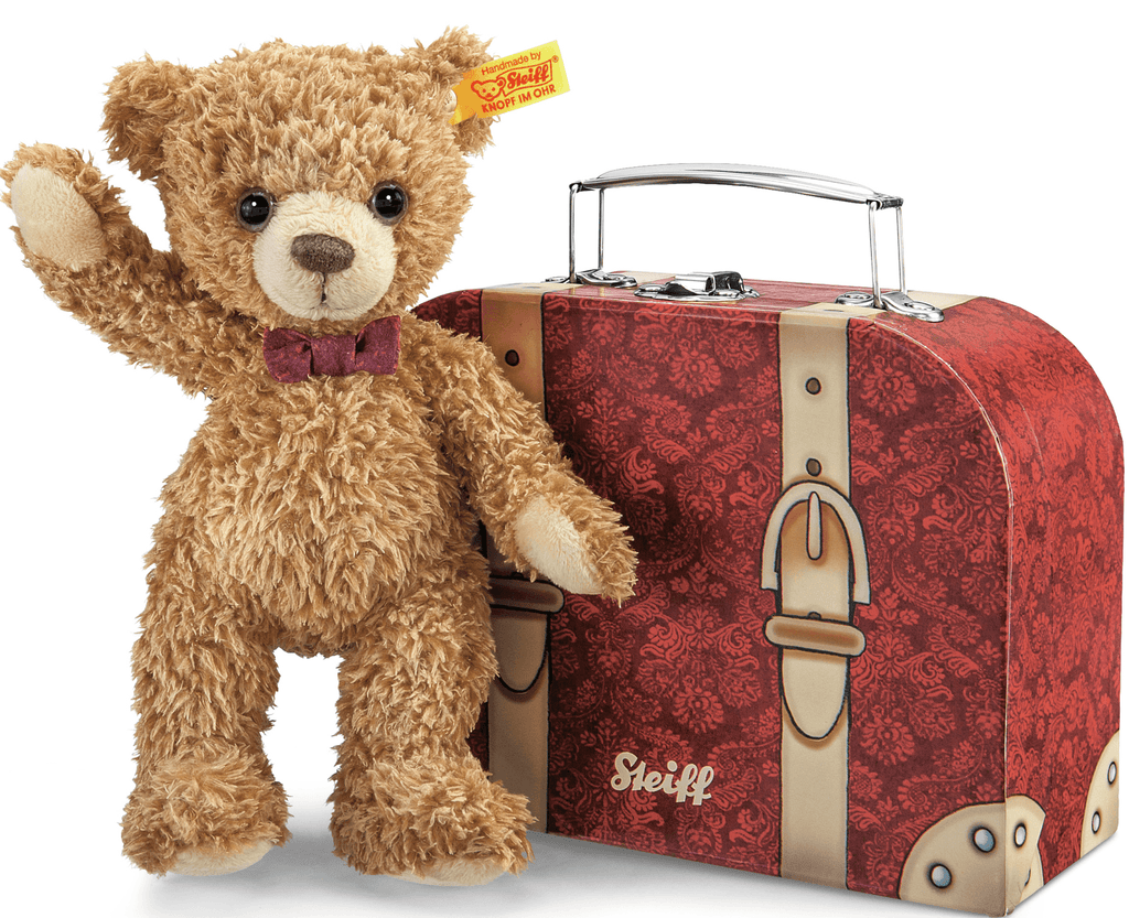 Steiff Carlo Teddy Bear in Suitcase