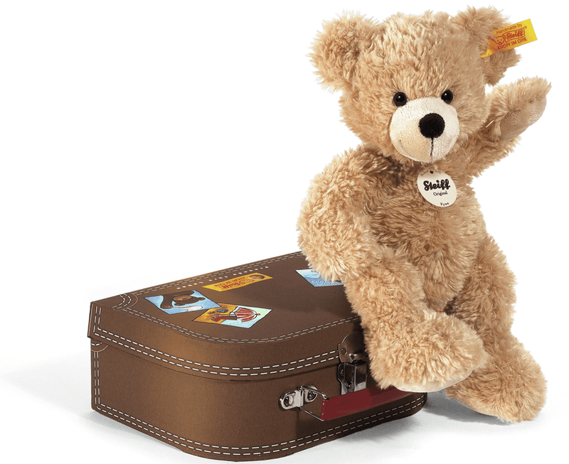 Steiff Fynn Teddy Bear in Suitcase - Da Da Kinder Store