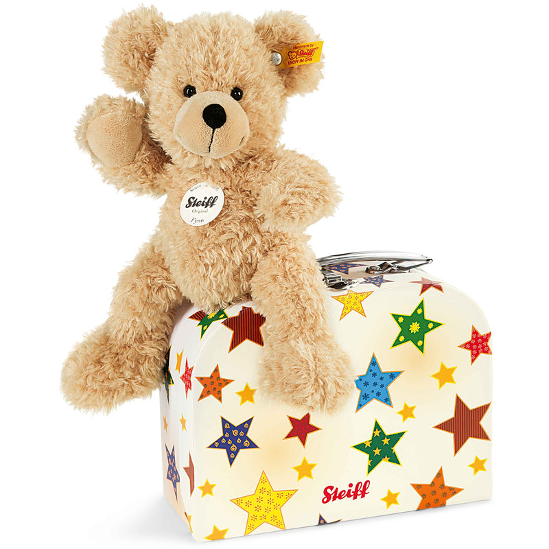 Steiff Fynn Teddy Bear in Suitcase, Star