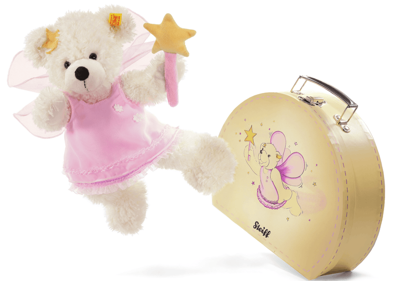 Steiff Lotte Teddy Bear Star Fairy in Suitcase