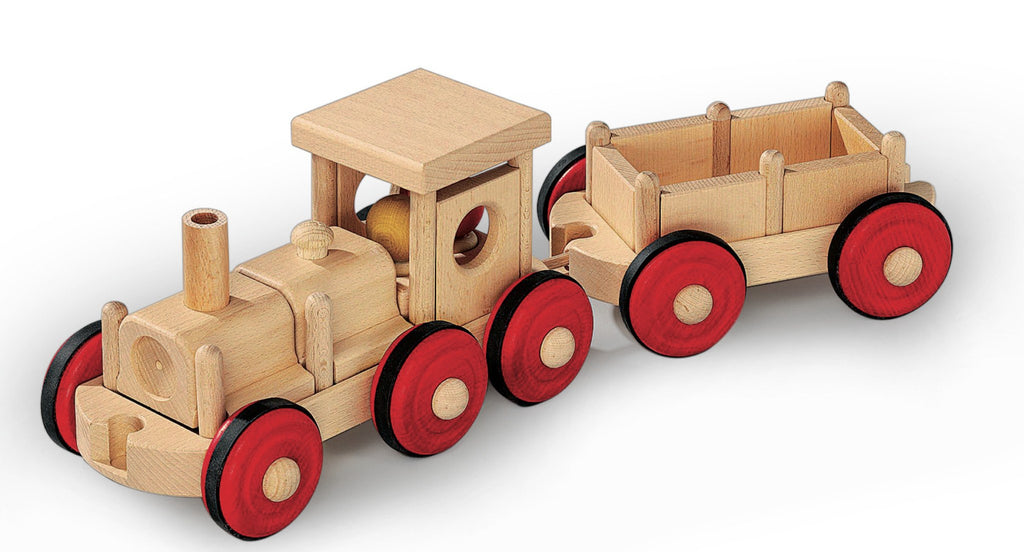 Fagus CombiFix Locomotive and Trailer - Da Da Kinder Store