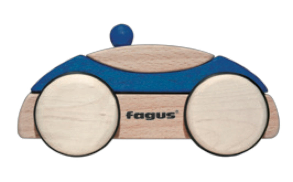 Fagus PuzzleMobile Police Car Blue