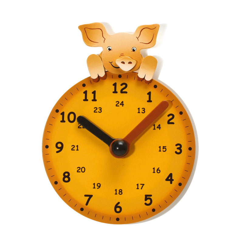 Weizenkorn Learning Clock, Little Pig