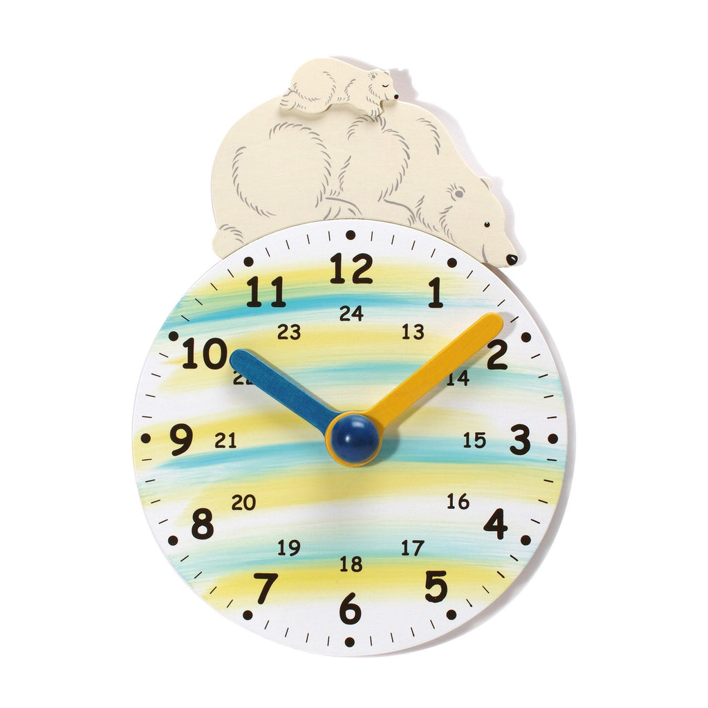 Weizenkorn Learning Clock, Polar Bear