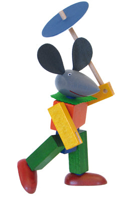 Kellner Steckfiguren Quiek the Mouse - Da Da Kinder Store