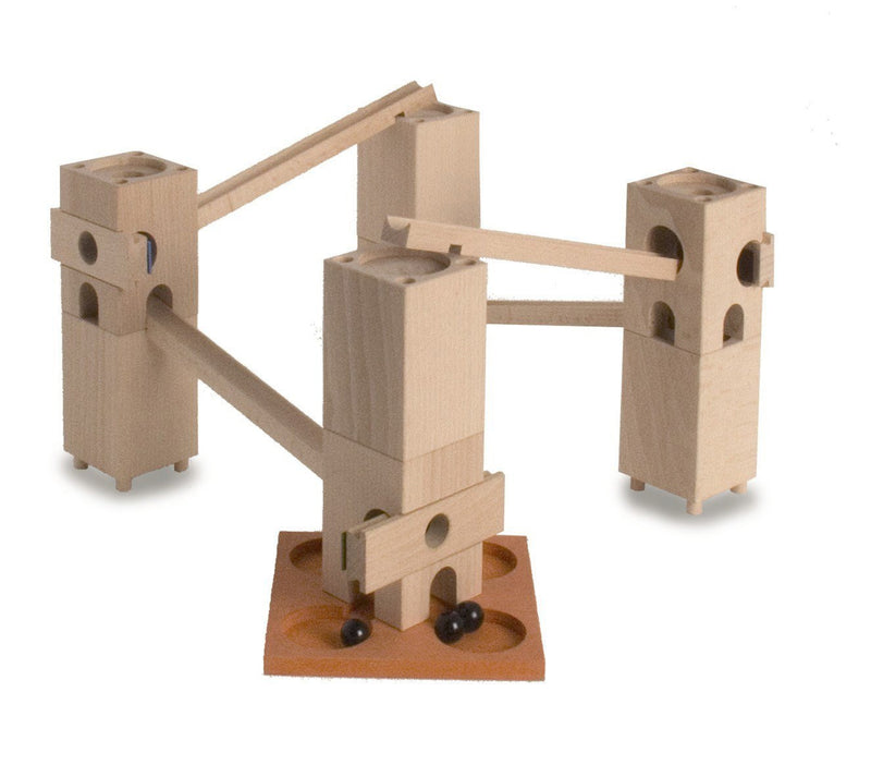 Xyloba Marble Run ~ Piccolino, 25 components