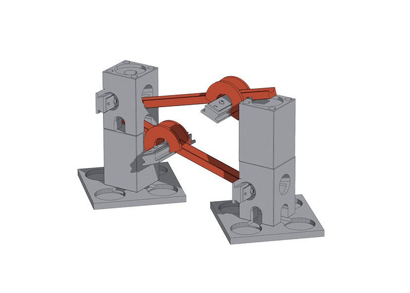 Xyloba Marble Run ~ Components Roll track one eighth