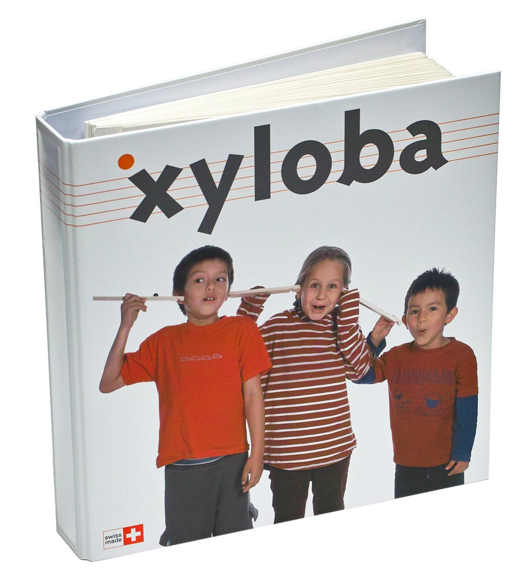 Xyloba Marble Run ~ Component Melody Booklet