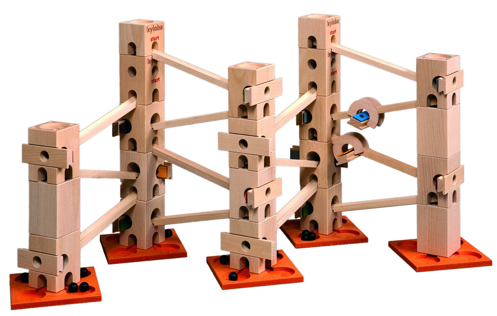 Xyloba Marble Run ~ Extension Set Folksong 1
